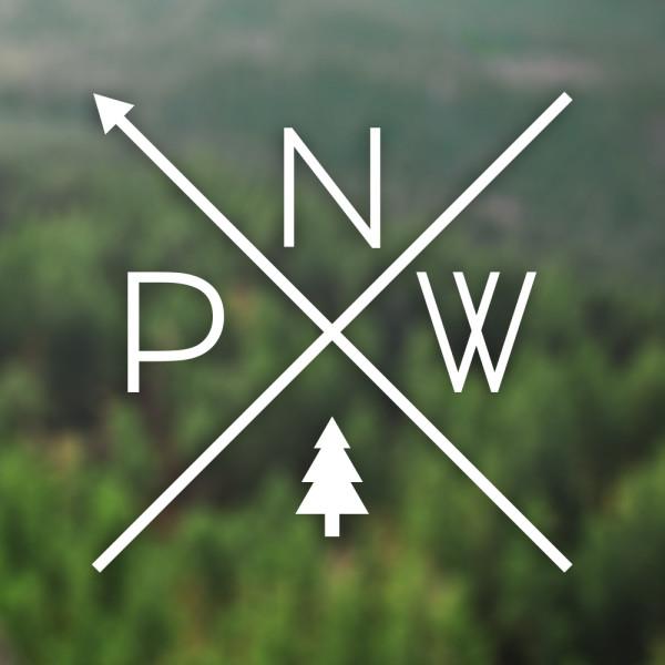 Pnw Pride Cast Vinyl Decal Crippen Design